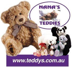 Logo - Nana's Teddies & Toys