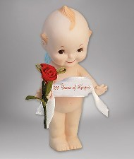 KEWPIE - PORCELAIN 100 YEARS