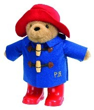 PADDINGTON BEAR - BLUE COAT