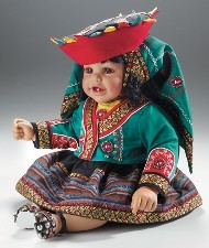 DOLLS OF THE WORLD - ISABEL