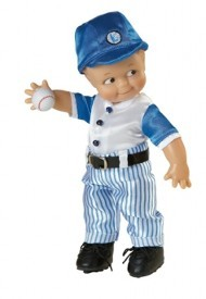 KEWPIE DOLL - VINYL - BATTER UP