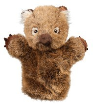 WOMBAT - WOLLY HAND PUPPET