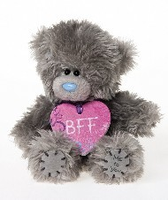 FRIENDSHIP - TATTY TEDDY - B F F