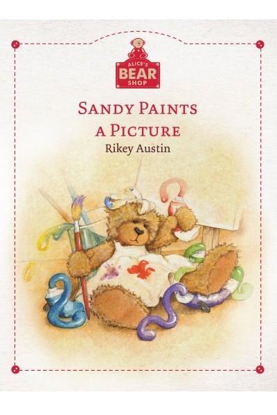 BOOK - SANDY PAINTS A PICTURE