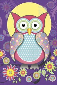 ONE $ KOALA CARD - PRETTY OWL