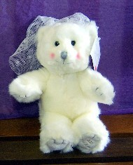WEDDING - BLUSHING BRIDE BEAR