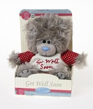 GET WELL - TATTY TEDDY