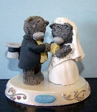 WEDDING - CAKE TOPPER
