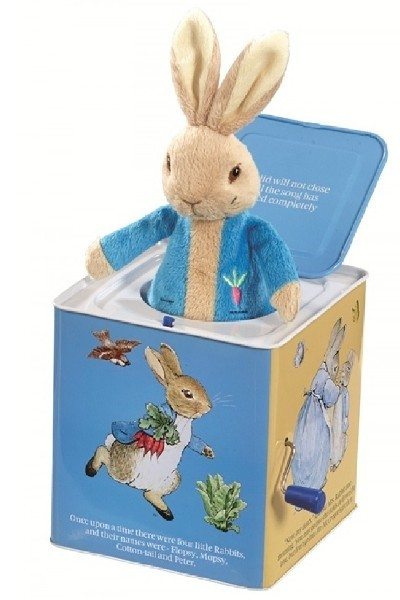 JACK-IN-THE-BOX - PETER RABBIT