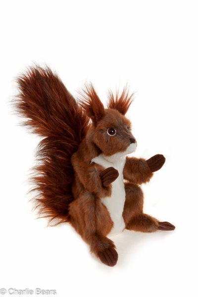 HAND PUPPET - CYRIL SQUIRREL