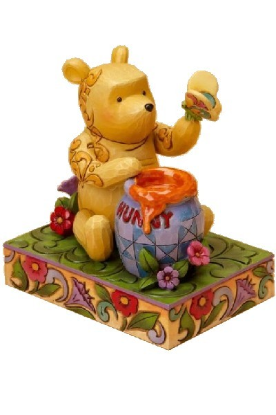 POOH WITH HONEY & BUTTERFLY
