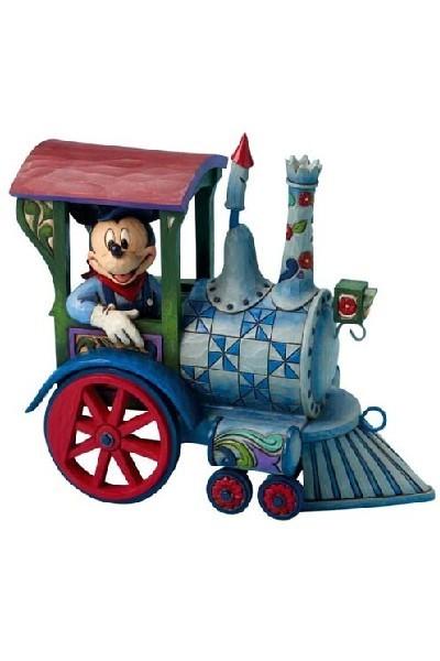 MICKEY DRIVING TRAIN