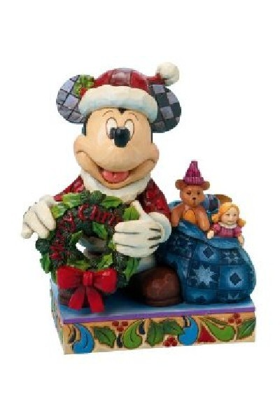 MICKEY WITH WREATH AND SACK