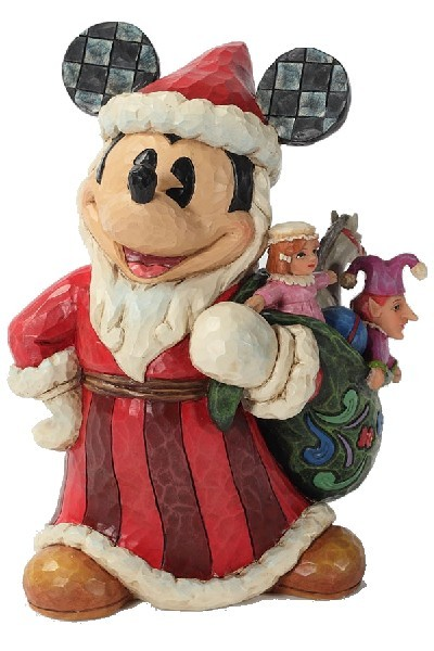 OLD WORLD SANTA MICKEY