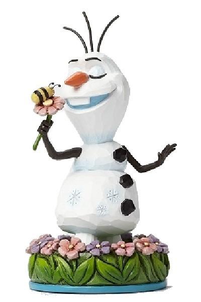 OLAF WITH FLOWER