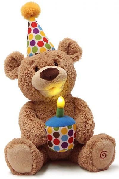 BIRTHDAY - ANIMATED SING BEAR