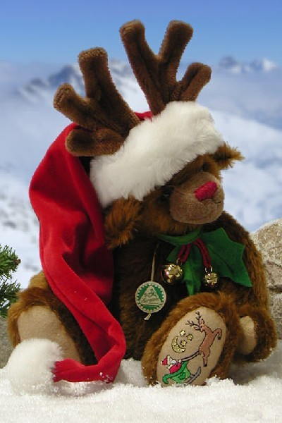 Z - CHRISTMAS REINDEER BEAR