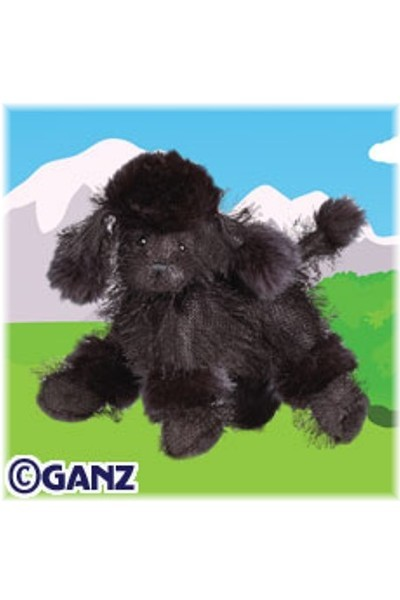 WEBKINZ DOG - BLACK POODLE
