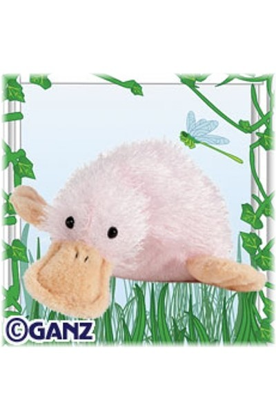 WEBKINZ DUCK - PINK GOOGLES