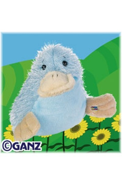 WEBKINZ DUCK - BLUE GOOGLES