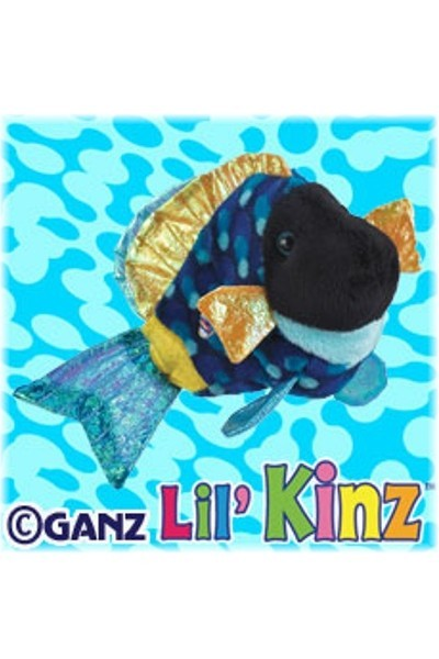 LIL'KINZ FISH - BLUE TRIGGERFISH