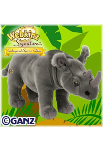 WEBKINZ SIGNATURE - AFRICAN RHINO