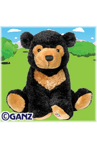 WEBKINZ BEAR - SUN BEAR