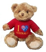 AUSSIE BEAR IN JUMPER