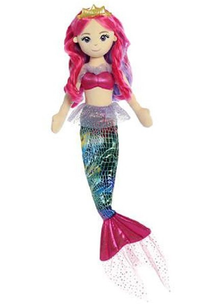 RAG DOLL - PRINCESS MERMAID