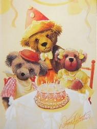 PAWTRAIT CARD - HAPPY BIRTHDAY