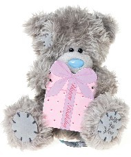 BIRTHDAY - TATTY TEDDY - PLAQUE