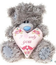 LOVE - TATTY TEDDY - HEART