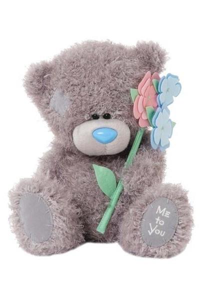MUM - TATTY TEDDY - FLOWER