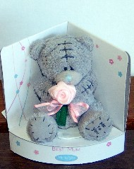 MUM - TATTY TEDDY - MESSAGE BEAR