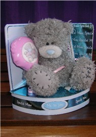 MUM - TATTY TEDDY - MESSAGE BEAR