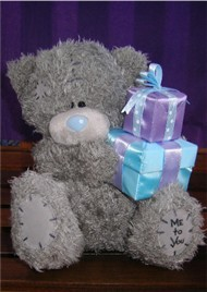 BIRTHDAY - TATTY TEDDY - PRESENT