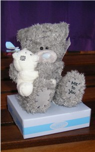 TATTY TEDDY - HOLDING CHALKY