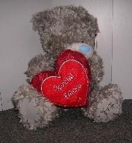 FRIENDSHIP - TATTY TEDDY - HEART