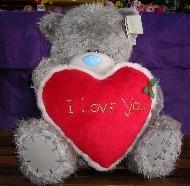 LOVE - TATTY TEDDY - WITH HEART