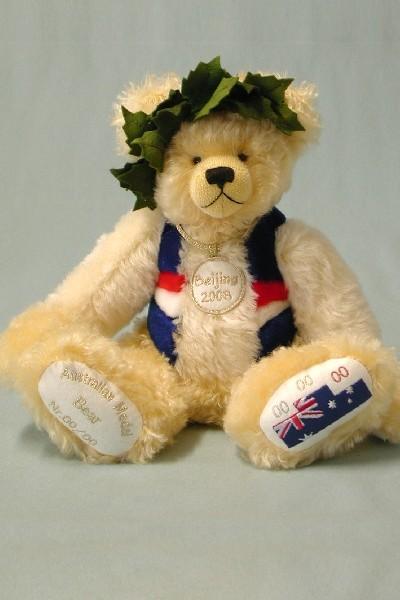 AUSTRALIAN OLYMPIC MEDAL BEAR