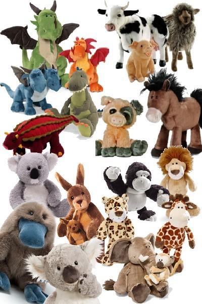 Plush Animals Nana's Teddies