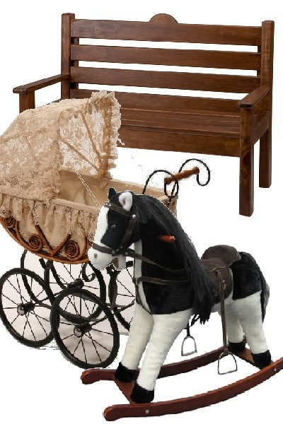 Furniture and rocking horse