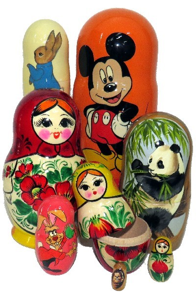 .RUSSIAN MATRYOSHKA DOLLS INFO