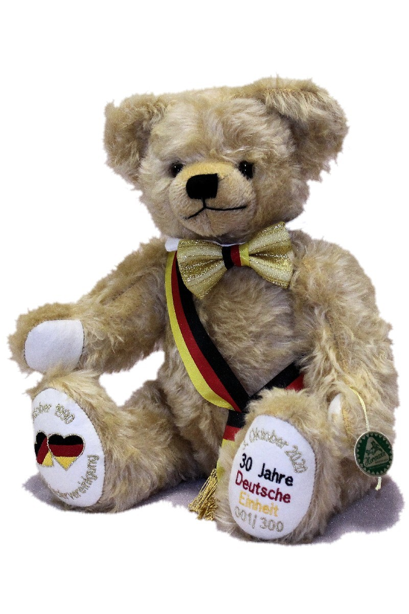 GERMAN UNITY BEAR <br> 30 YEARS