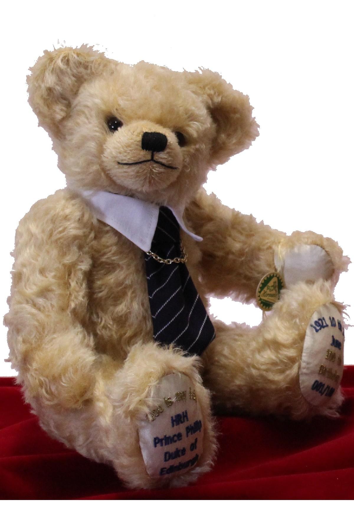 ROYALTY <br> PRINCE PHILIP MEMORIAL BEAR