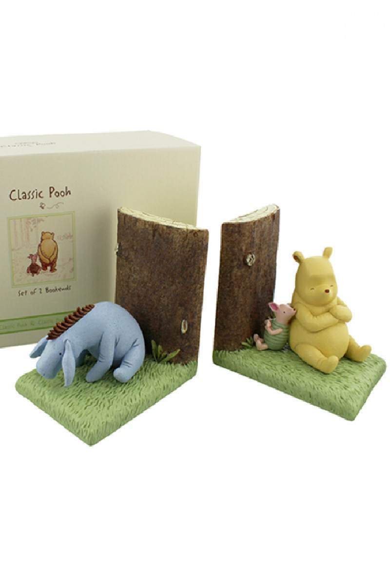 POOH BOOKENDS